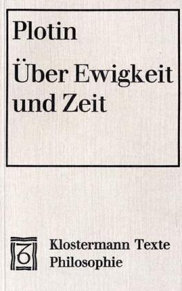 9783465028550: Über Ewigkeit und Zeit. Enneade III 7.