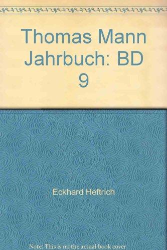 9783465028864: Thomas Mann Jahrbuch: BD 9