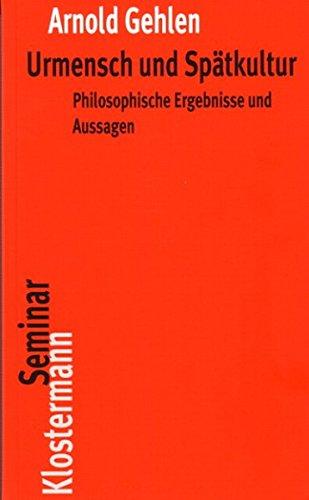 9783465033059: Urmensch und Spätkultur