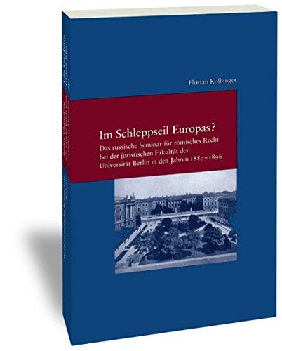 Im Schleppseil Europas?: Florian Kolbinger
