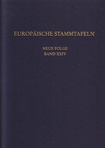 9783465035145: Europäische Stammtafeln. Neue Folge Band 24: Rund um die Ostsee 3