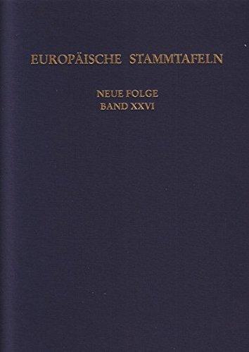 9783465035985: Europäische Stammtafeln. Neue Folge: Band XXVI: Zwischen Maas und Rhein 2