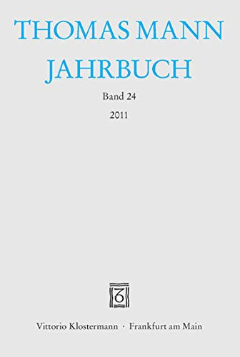 9783465036975: Thomas Mann Jahrbuch: 2011 (German Edition)