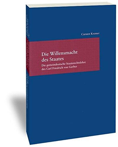 Die Willensmacht des Staates: Carsten Kremer