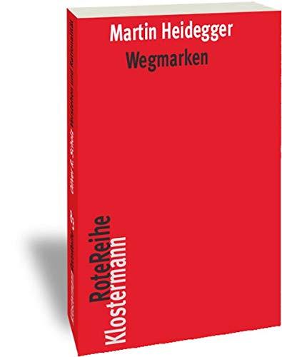 9783465041832: Wegmarken (Klostermann RoteReihe) (German Edition)