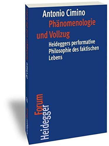 9783465041894: Phänomenologie und Vollzug