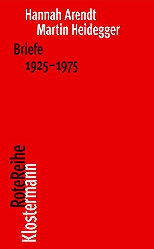 9783465041962: Briefe 1925 bis 1975 und andere Zeugnisse (Klostermann RoteReihe)