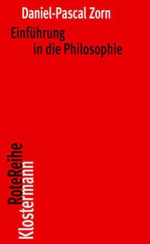 9783465043003: Einfuhrung in Die Philosophie
