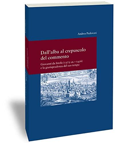 Dall' alba al crepusculo del commento: Padovani, Andrea