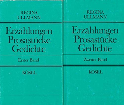 9783466101610: Erz�hlungen, Prosast�cke, Gedichte