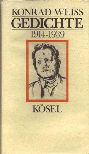 9783466101764: Gedichte 1914-1939