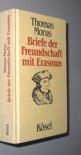 9783466250226: Briefe der Freundschaft mit Erasmus, Bd 5