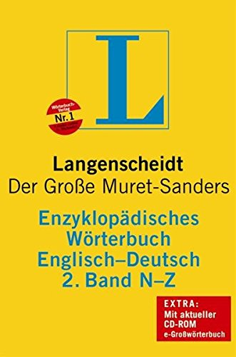 Langenscheidt's Encyclopaedic Dictionary of the English and: Otto Springer (ed.)