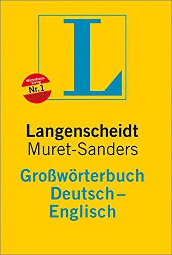 Langenscheidt condensed muret sanders german english for Dictionary englisch deutsch