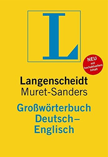 9783468021275: Langenscheidt Bilingual Dictionaries: Langenscheidts Grossworterbuch Deutsch-Englisch - Muret-Sanders (German Edition)
