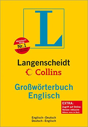 9783468024115: Langenscheidt Collins Grosswörterbuch Englisch: Englisch-Deutsch - Deutsch-Englisch