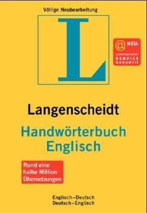 Handwörterbuch Englisch-Deutsch, Deutsch-Englisch: Langenscheidt