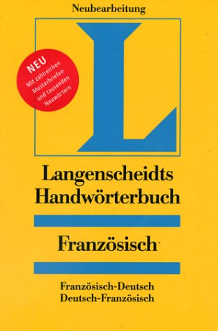 Handwörterbuch Französisch-Deutsch, Deutsch-Französisch: Langenscheidt