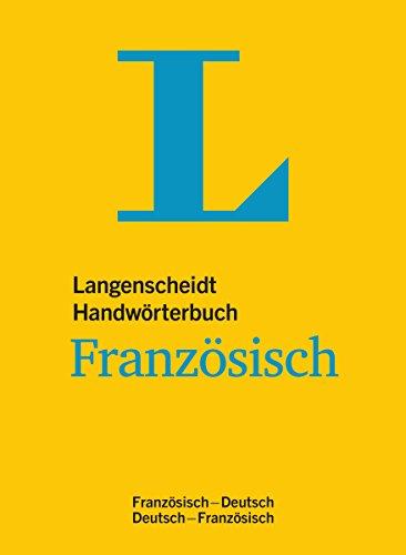 9783468051616: Langenscheidt Handw�rterbuch Franz�sisch: Franz�sisch-Deutsch/Deutsch-Franz�sisch