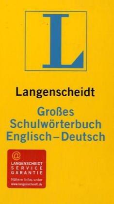 9783468071225: Langenscheidts Grosse Schulworterbuch: Englisch-Deutsch