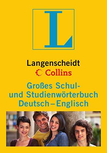 9783468071386: Langenscheidt Collins Großes Schulwörterbuch Englisch: Deutsch-Englisch