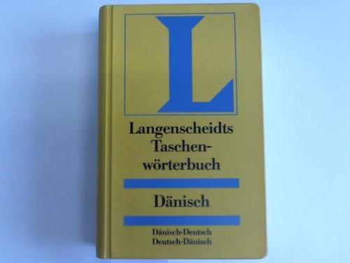 9783468101007: Langenscheidts Taschenwörterbuch Dänisch - Deutsch. Deutsch - Dänisch.