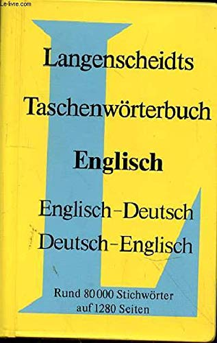 9783468101205: English German Dictionary