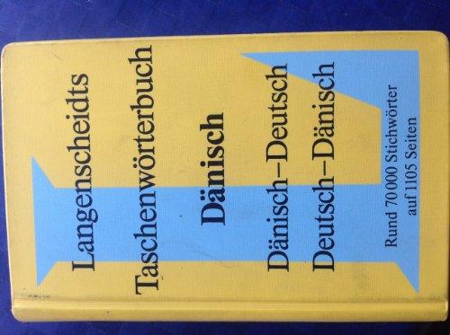 9783468111006: Langenscheidts Taschenwörterbuch Dänisch. Dänisch-Deutsch. Deutsch-Dänisch