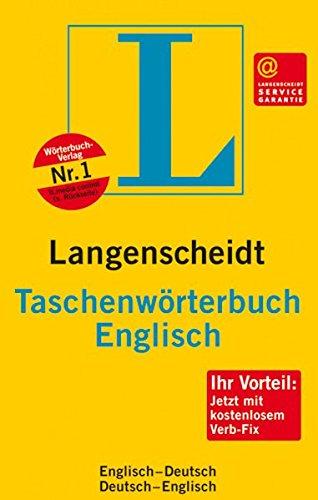 Langenscheidt Taschevworterbuch Englisch (3468111347) by Langenscheidt