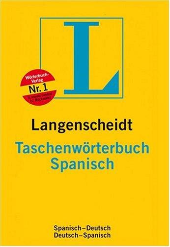 9783468113499: Taschenwörterbuch Spanisch. Langenscheidt