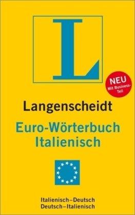 9783468121838: Langenscheidt Euro-Wörterbuch Italienisch