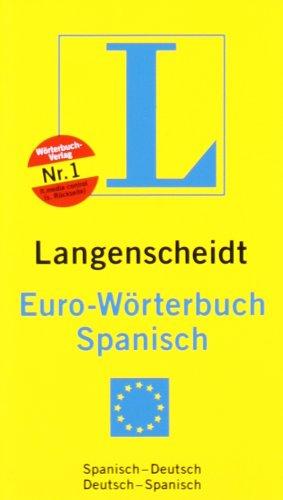 9783468123436: Langenscheidt Euro-Wörterbuch Spanisch