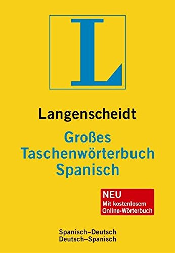9783468130670: Langenscheidt Großes Taschenwörterbuch Spanisch: Spanisch - Deutsch / Deutsch - Spanisch. Rund 130.000 Stichwörter und Wendungen