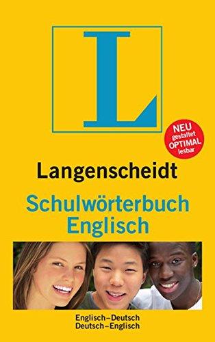 9783468131325: Langenscheidt Bilingual Dictionaries: Langenscheidt Schulworterbuch Englisch