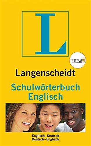 9783468131417: Langenscheidt Schulwörterbuch Englisch. TING-Ausgabe: Englisch - Deutsch / Deutsch - Englisch