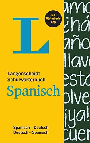 9783468131608: Langenscheidt Schulwörterbuch Spanisch - Buch und App