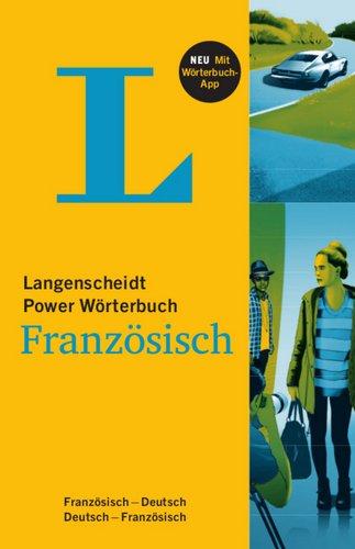 9783468133121: Langenscheidt Power Wörterbuch Französisch - Buch und App: Französisch - Deutsch / Deutsch - Französisch