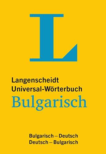 9783468180835: Langenscheidt Universal-Wörterbuch Bulgarisch: Bulgarisch-Deutsch / Deutsch-Bulgarisch