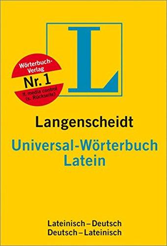 9783468182020: Langenscheidts Universal-Wörterbuch, Latein