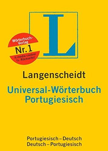 9783468182730: Langenscheidts Universal-Wörterbuch, Portugiesisch