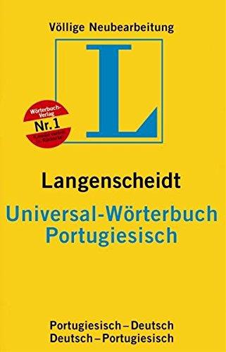 9783468182747: Portugiesisch. Universal-Wörterbuch. Langenscheidt. Neues Cover