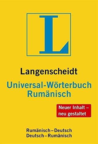 9783468182822: Langenscheidt Bilingual Dictionaries: Universal-Worterbuch Rumanisch (German Edition)