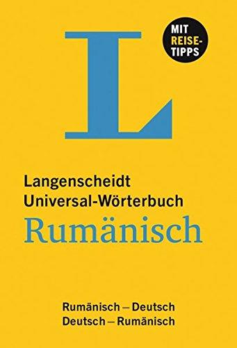 9783468182839: Langenscheidt Universal-Wörterbuch Rumänisch