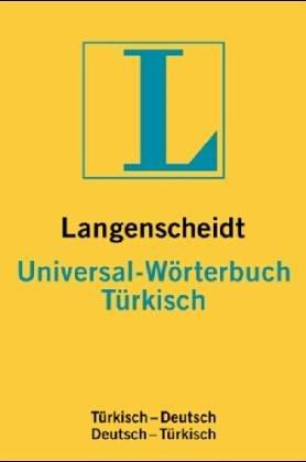 9783468183737: Türkisch. Universal- Wörterbuch. Langenscheidt. RSR. Türkisch - Deutsch / Deutsch - Türkisch