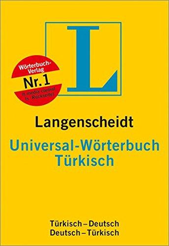 9783468183744: langenscheidts universal-worerbuch turkisch (turkisch-deutsch; deutsch-turkisch)