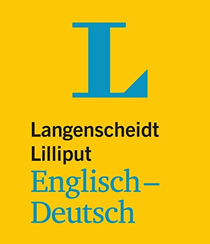 9783468199516: Langenscheidt Bilingual Dictionaries: Lilliput Englisch/Deutsch