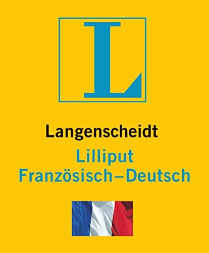 9783468199530: Langenscheidt Lilliput Französisch. Französisch-Deutsch