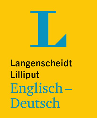 Langenscheidt Bilingual Dictionaries: Lilliput Englisch/Deutsch (Paperback): Louis Ramond de