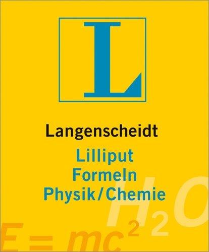 9783468200793: Langenscheidt Lilliput Formeln Physik/Chemie