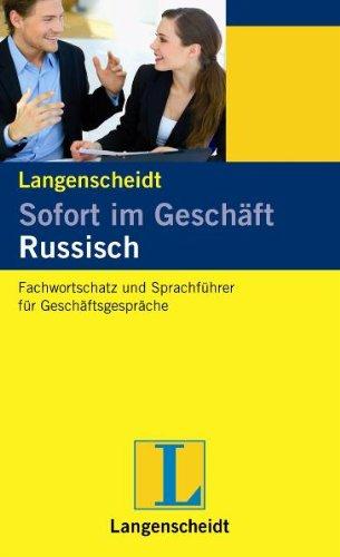 9783468219245: Sofort im Gesch�ft Russisch: Russisch und Deutsch